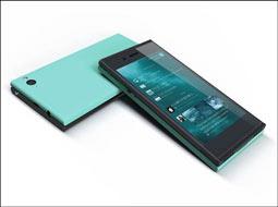 ارائه یک تلفن هوشمند جدید با سیستم عاملی متفاوت