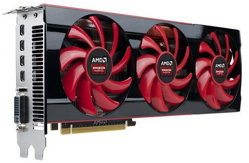 کارت گرافیک AMD Radeon HD7990