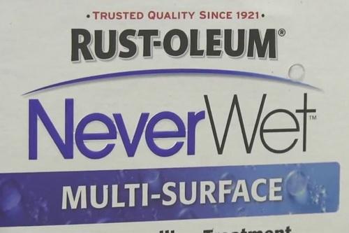با اسپری NeverWet همیشه گجتهای خود را ضد آب کنید