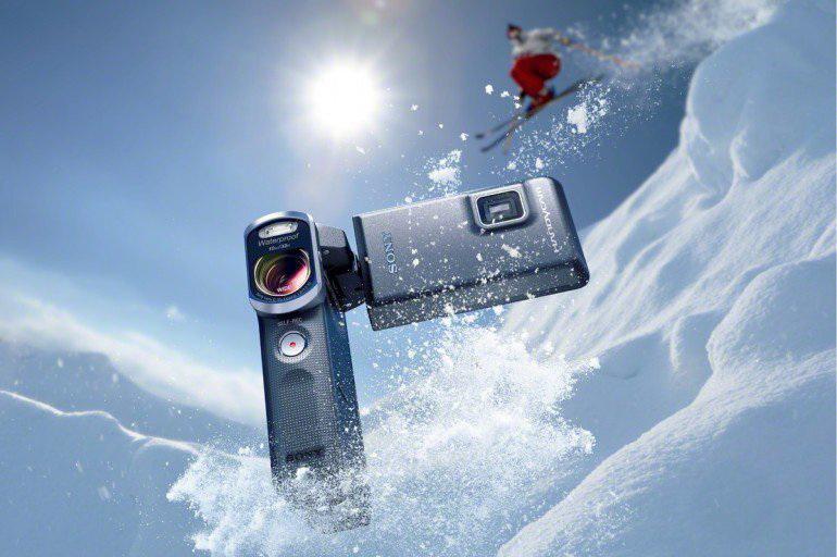 دوربین فیلمبرداری ضد آب و ضربه
