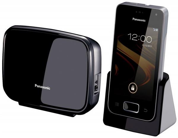 معرفی تلفن خانگی KX-PRX120 مجهز به اندروید