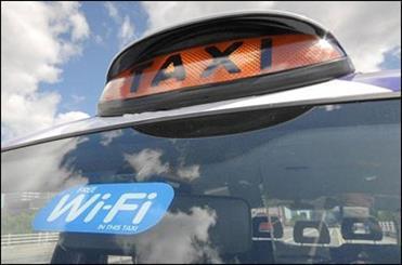 تجهيز تاکسیهای لندن به وایفای