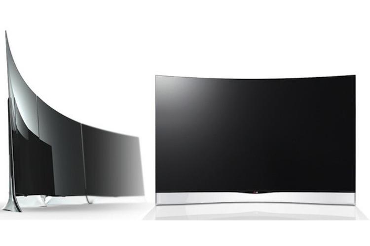 فروش تلویزیونهای خمیده 55 اینچ الجی
