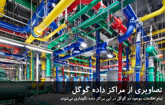 مراکز داده گوگل