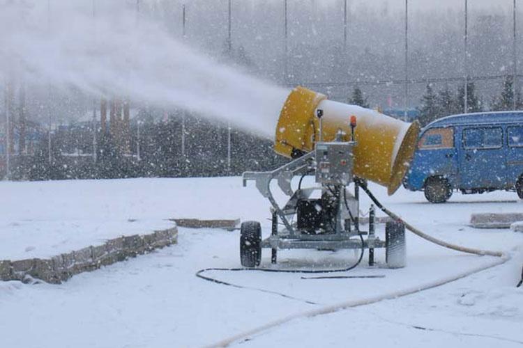 چگونگی تولید برف در ماشینهای برفساز المپیک زمستانی