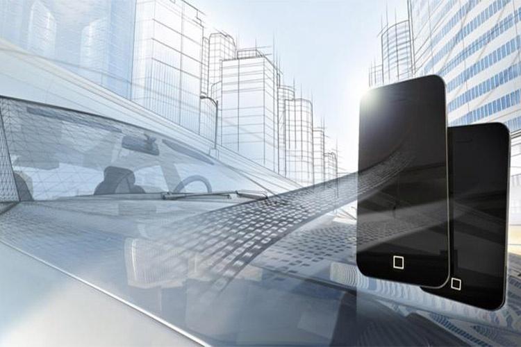 پارک خودروی خود تنها با لمس تلفن هوشمند