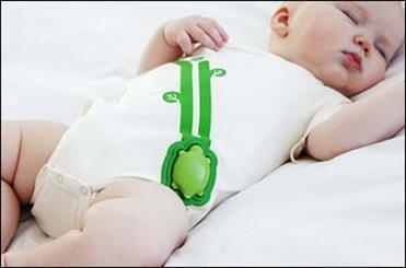 تولید گجت ناظر بر حرکات و تنفس کودک