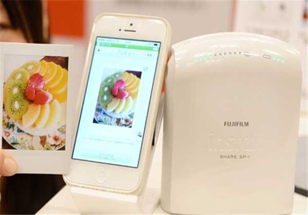 تولید چاپگر موبایلی از Fujifilm