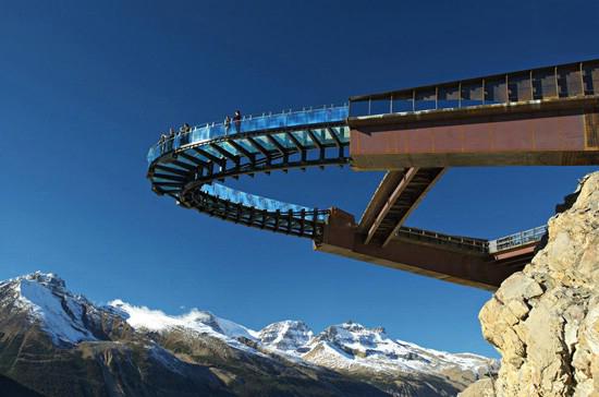 راه آسمان شیشه ای (Glacier Skywalk) – پارک جسپر، راکی کانادایی