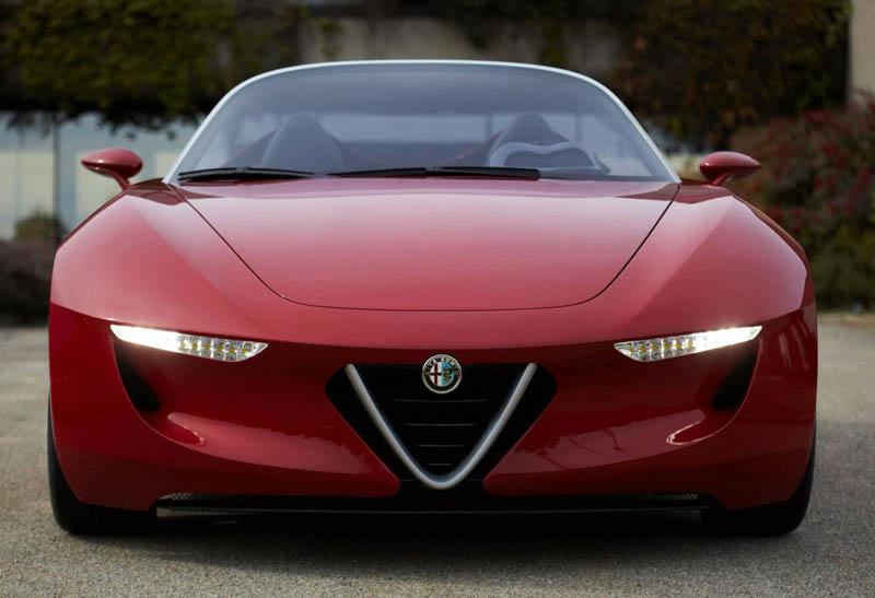 نتیجه تصویری برای آلفا رومئو اسپایدر جدید، موتور چهارسیلندر توربوشارژ خواهد داشت