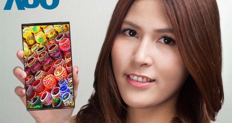 عرضه نخستین صفحه نمایش 4K برای موبایل