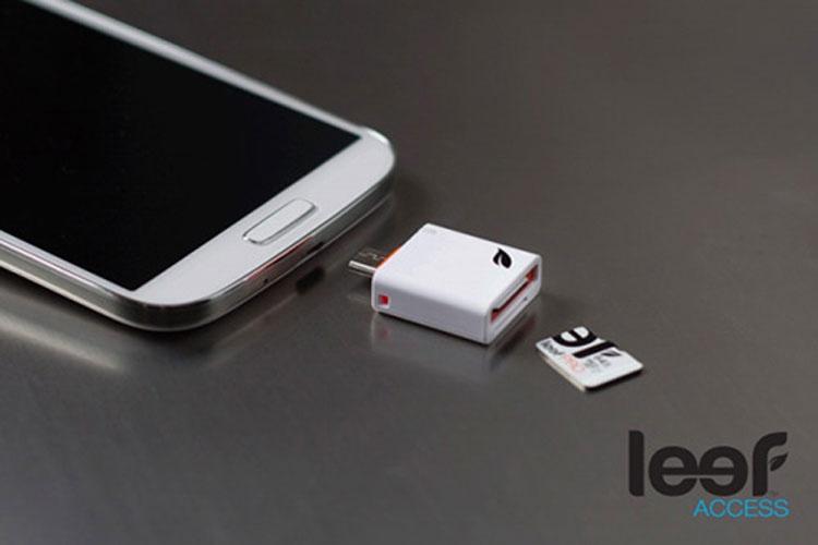 با استفاده از Meet Leef، حافظه MicroSD را به تلفن هوشمندتان اضافه کنید