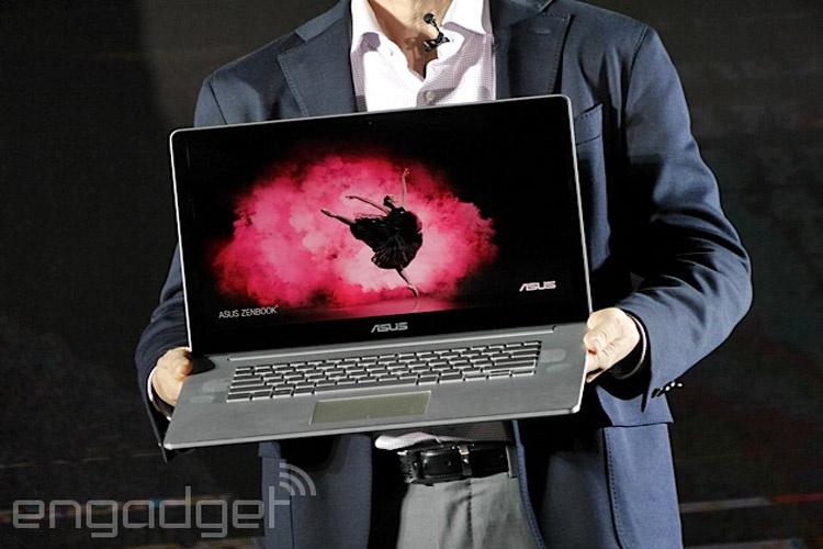 ایسوس نوتبوک Zenbook NX500 را معرفی کرد