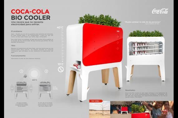کوکا کولا یخچالی ساخته که بدون برق کار می کند؛ هر چه هوا گرم تر نوشیدنی ها خنک تر!