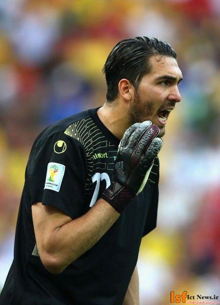 عکس های علیرضا حقیقی در جام جهانی فوتبال 2014 برزیل