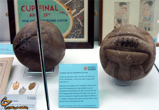 توپهای جام جهانی از ابتدا تاکنون