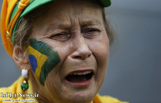 رکورد ۳۵.۶ میلیون توییت در جریان سنگینترین شکستِ طلایی پوشان برزیل