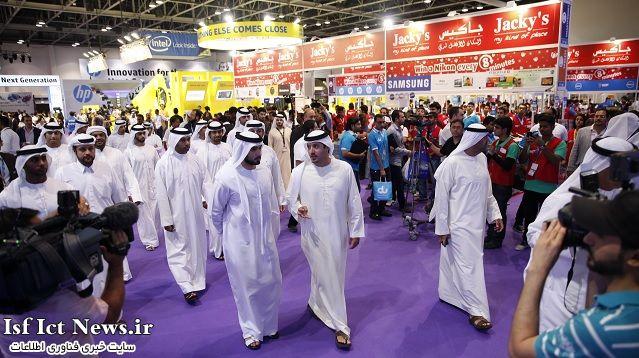 """برگزاری نمایشگاه جیتکس دوبی """" GITEX 2014 """" از 20 تا 24 مهر 93"""