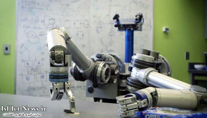 ربات پیشخدمت HERB در شرکت بیسکوییت سازی Oreo + (فیلم)