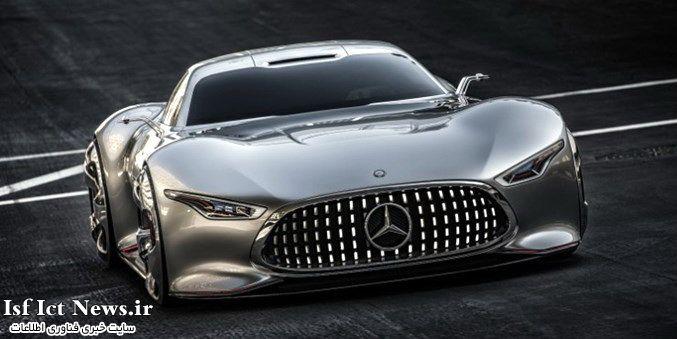 فتوگرافر : مهارت مرسدس بنز در طرح مفهومی AMG Vision Gran Turismo