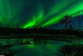فتوگرافر : مجموعه تصاویری دیدنی از شفق قطبی