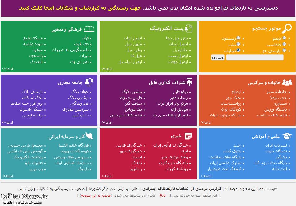 نظر جواد لاریجانی درباره اینترنت: فیلتر مثل درو پیکرخانه است/مهارمان رابه دست چند شنگول نمی دهیم
