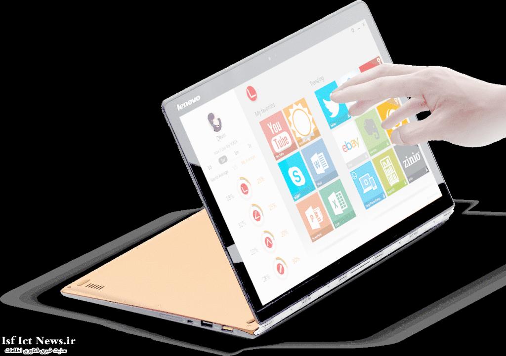 Lenovo Yoga 3 pro 1024x721 بهترين لپ تاپ هاي سال ???? از نگاه PCWorld