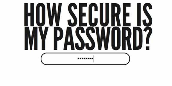 اینفوگرافیک : رمز عبور شما چقدر ایمن است؟