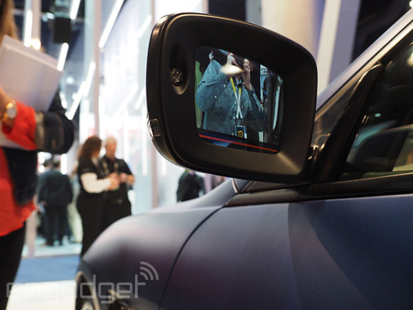 نمایشگر هوشمند جایگزین آینه در نسل بعدی خودروهای مازراتی