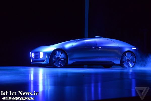 اتومبیل هیدروژنی بنز با نام F015 رونمایی شد