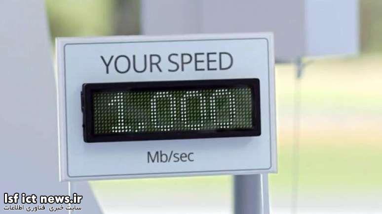 تست سرعت اینترنت گیگابیتی