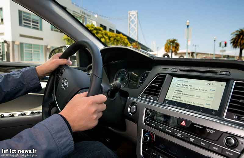 Android Auto روی خودروهای هیوندا نصب شد