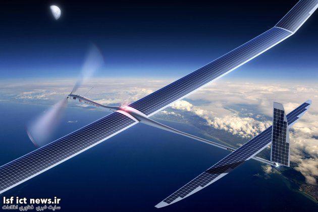 تماشا کنید: هواپیمای اینترنتی گوگل سقوط کرد