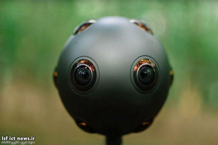 نوکیا دوربین جدید با قابلیت ضبط صدا و تصویر ۳۶۰ درجه معرفی کرد