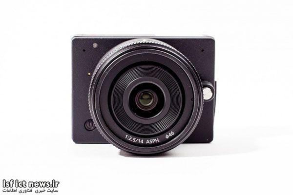 کوچکترین دوربین ۴K دنیا با قابلیت تعویض لنز