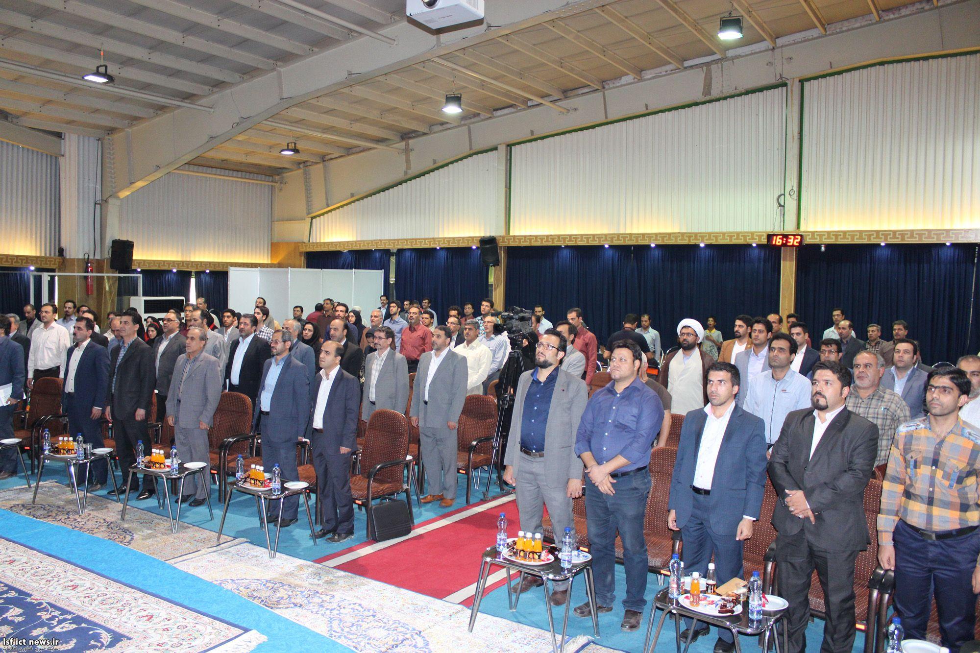 آیین افتتاحیه پنجمین نمایشگاه کامتکس در اصفهان