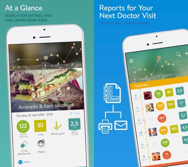 اپلیکیشن Diabetes Logbook برای کمک به کنترل بیماری در افراد مبتلا به دیابت