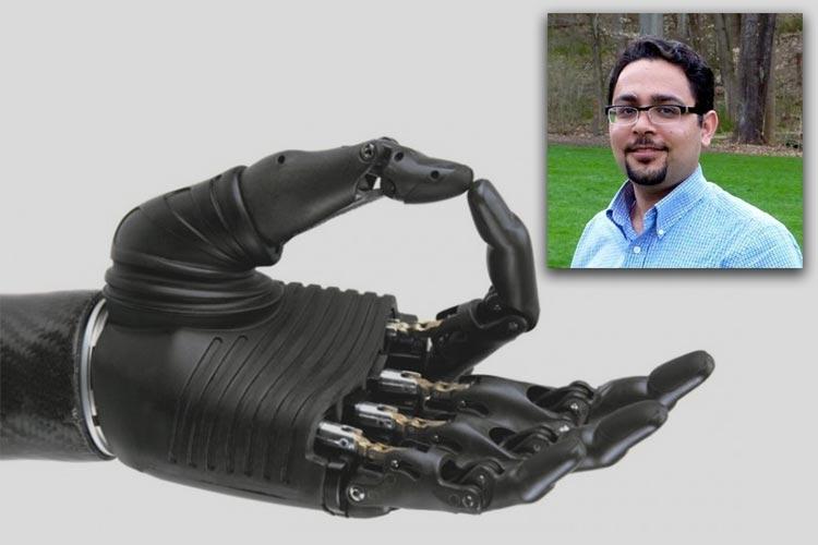ساخت نسل جدید دست بیونیکی انسان توسط محقق ایرانی