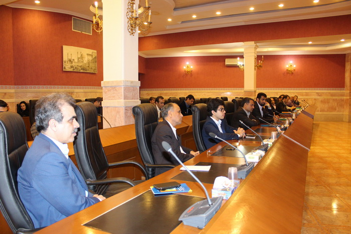 جلسه معرفی سازمان و تبیین توانمندی های فناوری اطلاعات و ارتباطات استان