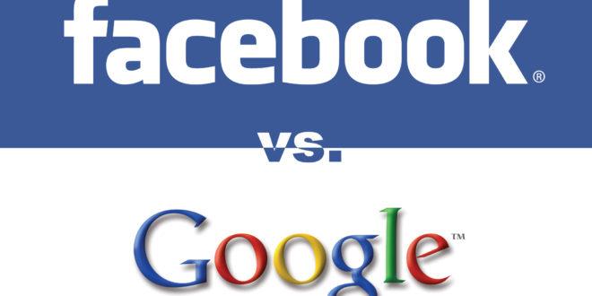 فیسبوک در مقابل گوگل