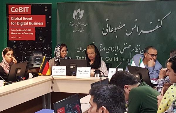 نمایشگاه CeBIT آلمان، آماده حضور شرکت ها و استارتاپ های توانمند ایرانی در حوزه ICT
