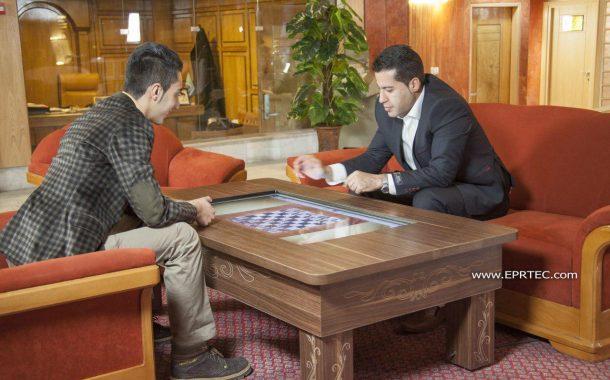 میز و استند های لمسی EPR  با کاربری اختصاصی برای صنعت هتلداری و گردشگری